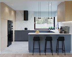 Dom w Grabinie - Kuchnia, styl minimalistyczny - zdjęcie od Szkic Design - Projektowanie wnętrz - Homebook