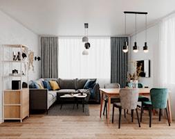 61 m2 w Warszawie - Salon - zdjęcie od Szkic Design - Projektowanie wnętrz - Homebook