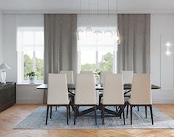 Rezydencja w Bielanach - Jadalnia, styl nowoczesny - zdjęcie od Szkic Design - Projektowanie wnętrz - Homebook