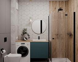 61 m2 w Warszawie - Łazienka - zdjęcie od Szkic Design - Projektowanie wnętrz - Homebook