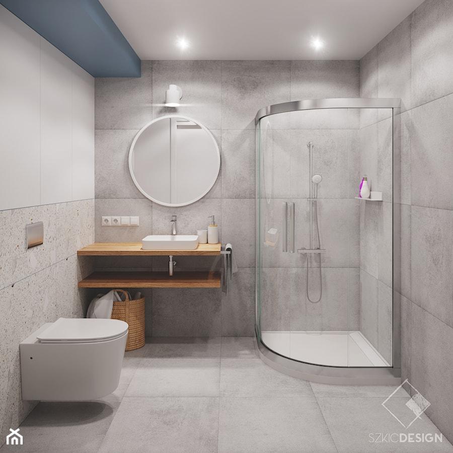 Mieszkanie pod wynajem - Łazienka, styl minimalistyczny - zdjęcie od Szkic Design - Projektowanie wnętrz