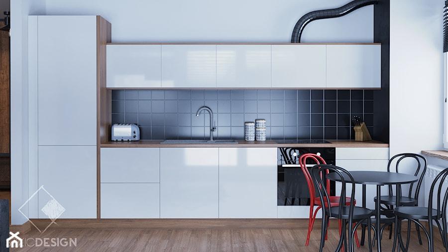 Industrialnie - Kuchnia, styl industrialny - zdjęcie od Szkic Design - Projektowanie wnętrz