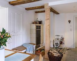 Dom przysłupowy - Jadalnia, styl rustykalny - zdjęcie od Beata Szczudrawa projektowanie wnętrz