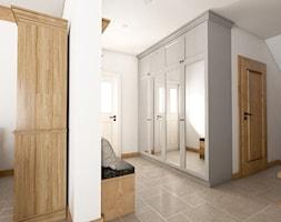 Kamienny Dom - Średni biały hol / przedpokój, styl klasyczny - zdjęcie od Beata Szczudrawa projektowanie wnętrz