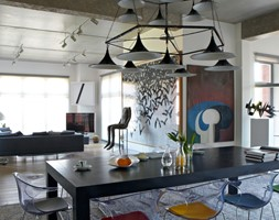 Loft gallery - Jadalnia, styl eklektyczny - zdjęcie od TYMA PROJEKT - Homebook