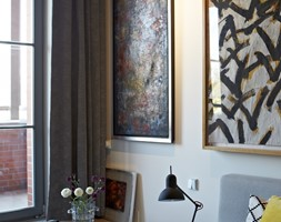 Loft gallery - Sypialnia, styl eklektyczny - zdjęcie od TYMA PROJEKT - Homebook