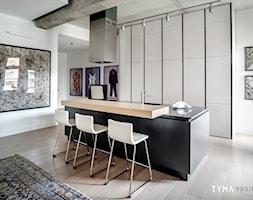 Loft gallery - Kuchnia, styl industrialny - zdjęcie od TYMA PROJEKT - Homebook