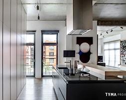 Loft gallery - Kuchnia, styl nowoczesny - zdjęcie od TYMA PROJEKT - Homebook