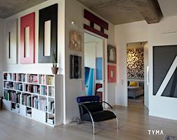 Loft gallery - Salon, styl eklektyczny - zdjęcie od TYMA PROJEKT - Homebook