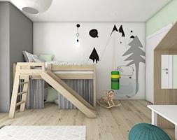 Pokoje dziecięce - Średni pokój dziecka dla chłopca dla malucha, styl nowoczesny - zdjęcie od BAGUA Pracownia Architektury Wnętrz