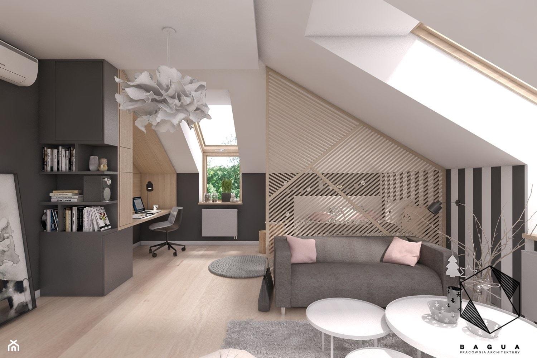 Pokój nastolatki - zdjęcie od BAGUA Pracownia Architektury Wnętrz - Homebook
