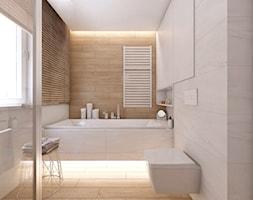 (Tarnowskie Góry) Projekt domu jednorodzinnego 10 - Łazienka, styl skandynawski - zdjęcie od BAGUA Pracownia Architektury Wnętrz