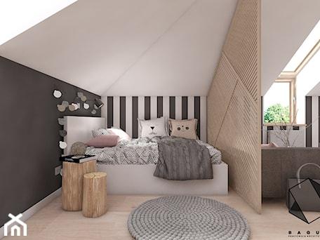 Aranżacje wnętrz - Pokój dziecka: Pokój nastolatki - BAGUA Pracownia Architektury Wnętrz. Przeglądaj, dodawaj i zapisuj najlepsze zdjęcia, pomysły i inspiracje designerskie. W bazie mamy już prawie milion fotografii!