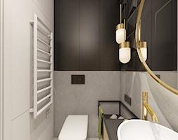 D26 - Mikołów - Projekt domu jednorodzinnego - Łazienka, styl nowoczesny - zdjęcie od BAGUA Pracownia Architektury Wnętrz - Homebook