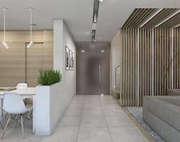 Dom jednorodzinny 7 - Hol / przedpokój, styl nowoczesny - zdjęcie od BAGUA Pracownia Architektury Wnętrz