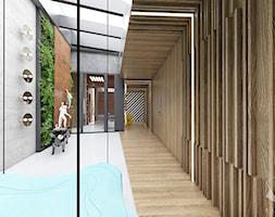 D25 - Rzeszów - Dom rekreacyjny całoroczny - Hol / przedpokój, styl nowoczesny - zdjęcie od BAGUA Pracownia Architektury Wnętrz - Homebook
