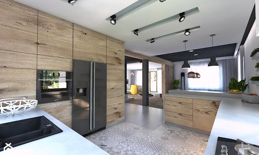 Będzin Projekt Domu Jednorodzinnego 4 Duża Otwarta