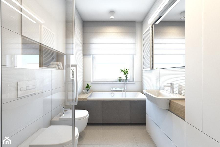 Pruszkow Projekt Mieszkania 3 Mala Biala Lazienka W Bloku W Domu