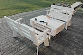 Zestaw 2 ławeczki + stolik kawowy 😎 - zdjęcie od piotr-mazur 28 - Homebook