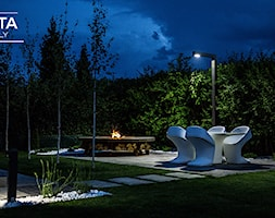Palenisko Hetta nocą - zdjęcie od Paleniska Ogrodowe - HETTA Supply