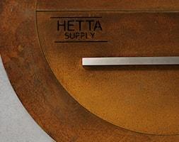 PALENISKA OGRODOWE GRILL HETTA SUPPLY WOOD ROUND CORTEN - zdjęcie od Paleniska Ogrodowe - HETTA Supply - Homebook