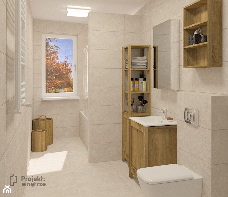 łazienka Powiększona Za ścianką Duża Wanna Z Parawanem