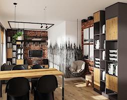 W industrialnym lesie 3 - Jadalnia, styl industrialny - zdjęcie od LuArt Design - Homebook