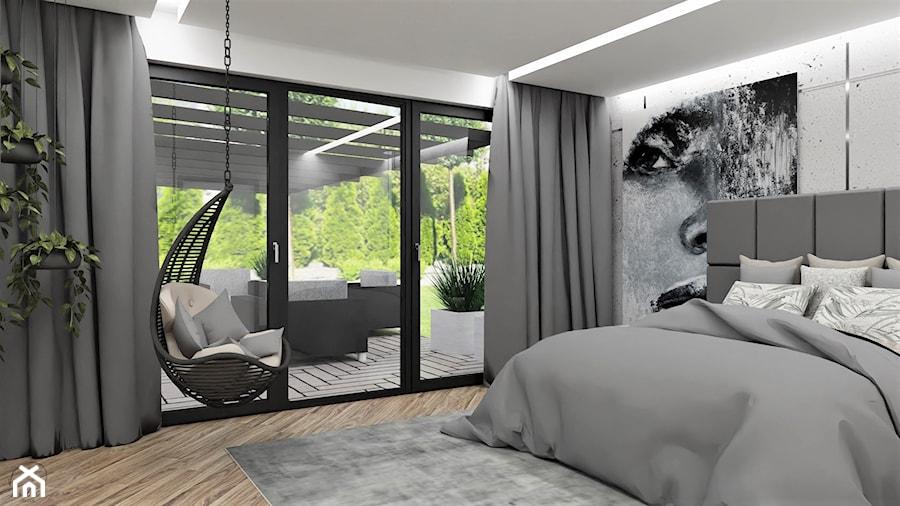 Aranżacje wnętrz - Sypialnia: Sypiania w betonie - Sypialnia, styl nowoczesny - LuArt Design. Przeglądaj, dodawaj i zapisuj najlepsze zdjęcia, pomysły i inspiracje designerskie. W bazie mamy już prawie milion fotografii!