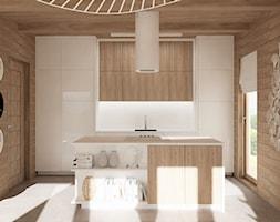 Drewniany domek - Kuchnia, styl skandynawski - zdjęcie od LuArt Design - Homebook