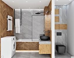 Łazienka, styl industrialny - zdjęcie od LuArt Design - Homebook