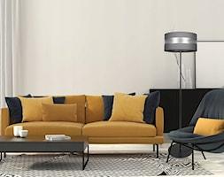 Przykładowa aranżacja salonu z klasyczną lampą stojącą od LightHome - zdjęcie od LightHome - Homebook