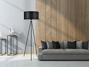 Salonowe wnętrza z lampami LightHome