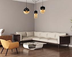 Elegancka aranżacja w klasycznym stylu retro z oświetleniem light-home - zdjęcie od LightHome - Homebook