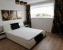 Nowoczesna aranżacja sypialni z oświetleniem od light home - zdjęcie od LightHome - Homebook