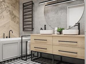 Spacja Studio - MIESZKANIE W OPOLU 2 - łazienka - zdjęcie od Spacja Studio