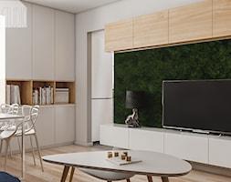 Pokój dzienny - mieszkanie w Knurowie 2 - Spacja Studio - zdjęcie od Spacja Studio