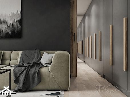 Aranżacje wnętrz - Salon: 026 _ Mieszkanie w Rudzie Śląskiej _ SALON - Spacja Studio. Przeglądaj, dodawaj i zapisuj najlepsze zdjęcia, pomysły i inspiracje designerskie. W bazie mamy już prawie milion fotografii!
