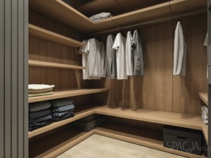 Dom w Gliwicach - GARDEROBA - Spacja Studio - zdjęcie od Spacja Studio