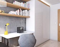 Pokój nastolatka - mieszkanie w Knurowie - Spacja Studio - zdjęcie od Spacja Studio