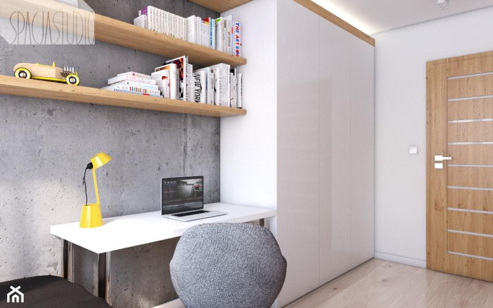 Pokój nastolatka - mieszkanie w Knurowie - Spacja Studio - zdjęcie od Spacja Studio - Homebook