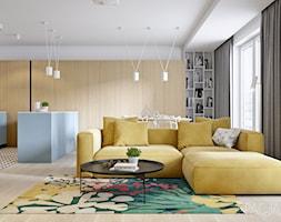 091 _ Mieszkanie w Krakowie _ SALON - zdjęcie od Spacja Studio - Homebook