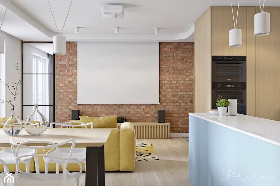 091 _ Mieszkanie w Krakowie _ SALON - zdjęcie od Spacja Studio
