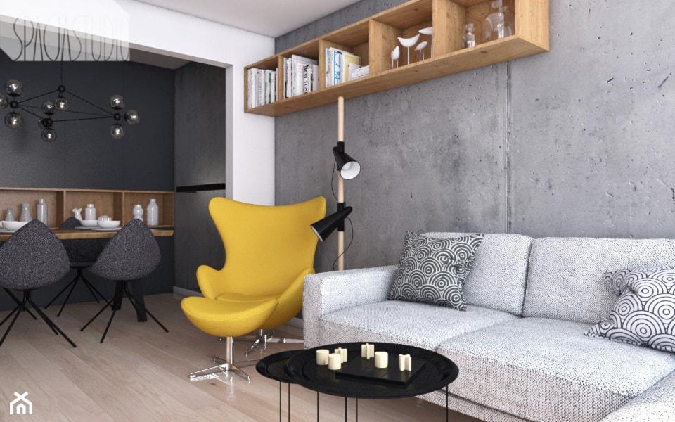 mieszkanie w Knurowie - Spacja Studio