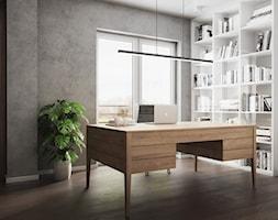 Gabinet+w+domu+w+Pniowie+autorstwa+pracowni+Spacja+Studio.+-+zdj%C4%99cie+od+Spacja+Studio