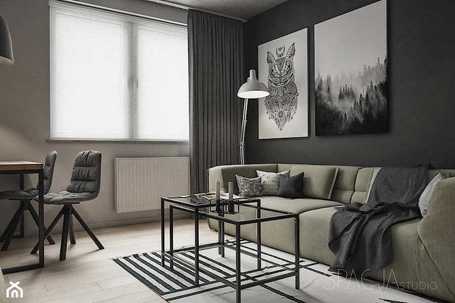 026 _ Mieszkanie w Rudzie Śląskiej _ SALON - zdjęcie od Spacja Studio