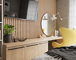 Spacja Studio - MIESZKANIE W OPOLU 2 - sypialnia - zdjęcie od Spacja Studio