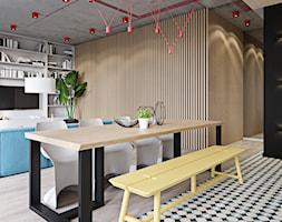 040 _ Apartament w Warszawie _ JADALNIA - zdjęcie od Spacja Studio - Homebook