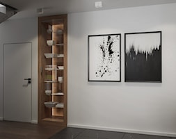 Kuchnia w domu w Pniowie autorstwa pracowni Spacja Studio. - zdjęcie od Spacja Studio