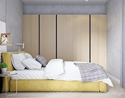 091 _ Mieszkanie w Krakowie _ SYPIALNIA - zdjęcie od Spacja Studio - Homebook