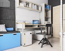 Pokój dziecka - mieszkanie w Gliwicach - Spacja Studio - zdjęcie od Spacja Studio